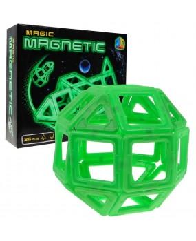 Magnetická svietiaca stavebnica